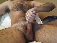 unshaved dad ample meatpipe..